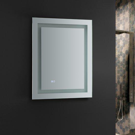 Santo Bathroom Mirror Led Lighting And Defogger 24 30 36 Or