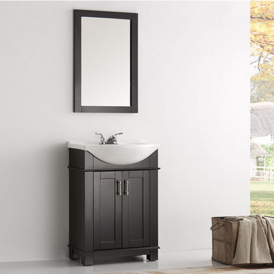 Bathroom Vanity 24 X 17 fre-fvn2302 hartford 24'' traditional bathroom vanity set
