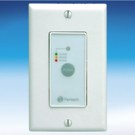 Triple Function Wall Control with Single Button Operation by Fantech