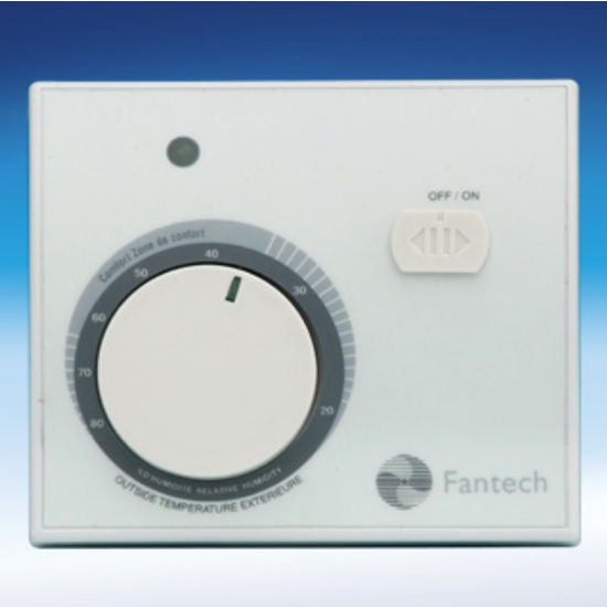 Dehumidistat with Rotary Dial by Fantech