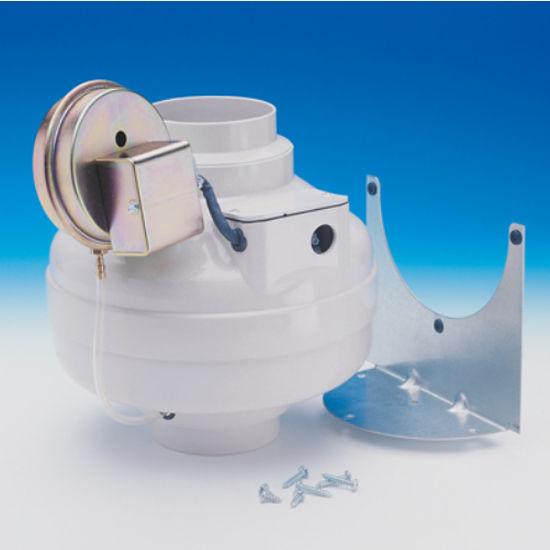Fan Tech Dryer Booster Kit with FR 110 Fan