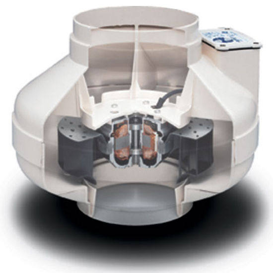 View Larger Image. Inline Fans   Centrifugal Fans Made of an Engineered Thermoplastic
