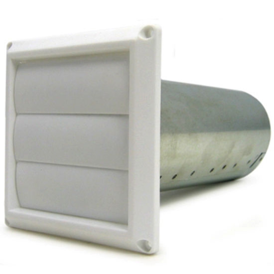 "Fan Tech louvered shutter for 4"" ducting minimum"