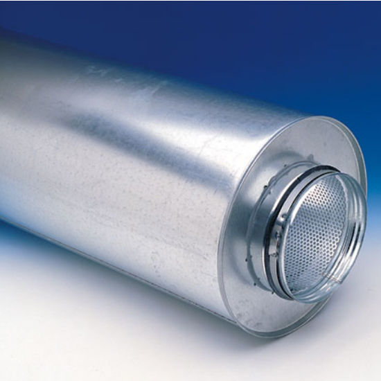 """Fantech LD Silencer for 4"""" - 12"""" Round Duct"""