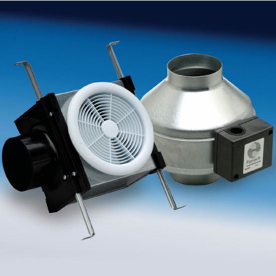 Inline Single Grille Premium Bathroom Exhaust Fans