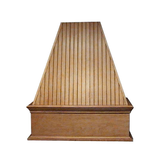 Air-Pro (Formerly Fujioh) Bead Board Island Mount Wood Range Hood
