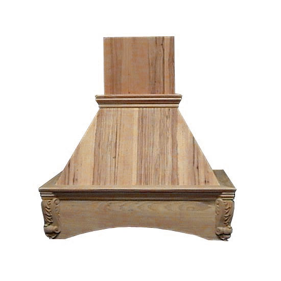 Air-Pro (Formerly Fujioh) Arched Corbel Island Mount Wood Range Hood
