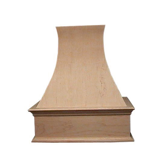 Air-Pro (Formerly Fujioh) Decorative Curve Wall Mount Wood Range Hood
