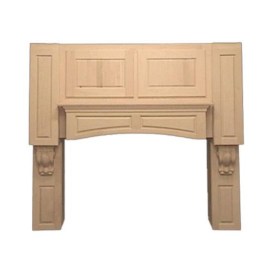 Wooden range hoods kitchen cabinet range hoods wood for Decorative stove hood
