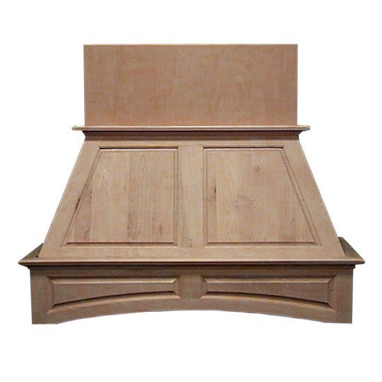 Air-Pro (Formerly Fujioh) Double Panel Island Mount Wood Range Hood