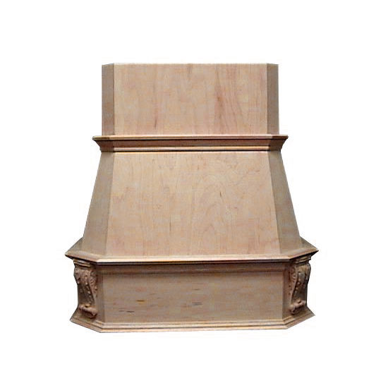 Air-Pro (Formerly Fujioh) Victorian Wall Mount Wood Range Hood