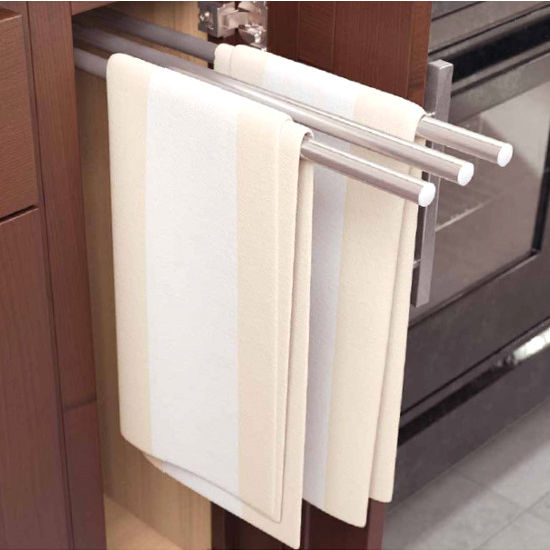 Vauth Sagel Pull-Out Towel Holders for 4-3/8'' Wide Cabinets ...