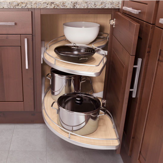 Cabinet Organizer - Vauth-Sagel Base Cabinet & Blind Corner Swing ...