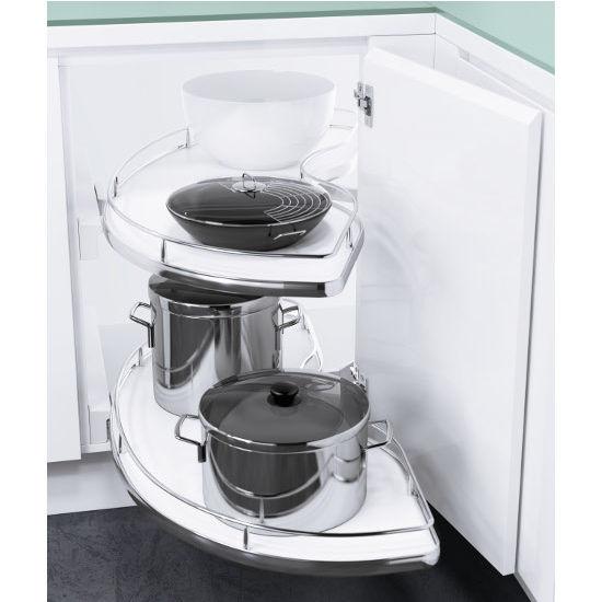 Vauth Sagel Slide Corner Cabinet Pullout For Framless