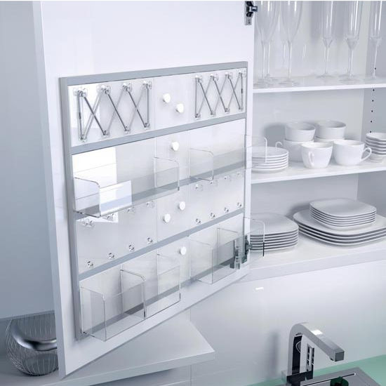 Fulterer TOM Door Organizing System for Wall Cabinets