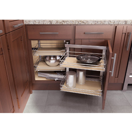 Custom Kitchen Cabinet Accessories: Kitchen Cabinet Organizers