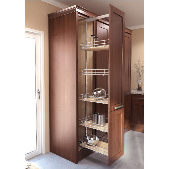 kitchen pull out cabinet pantry cabinet pull out system with ez dampening 5539