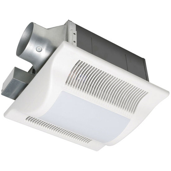 Bathroom Fans Whisper Fit Lite Low Profile Ceiling Mounted Fan W Lights By Panasonic
