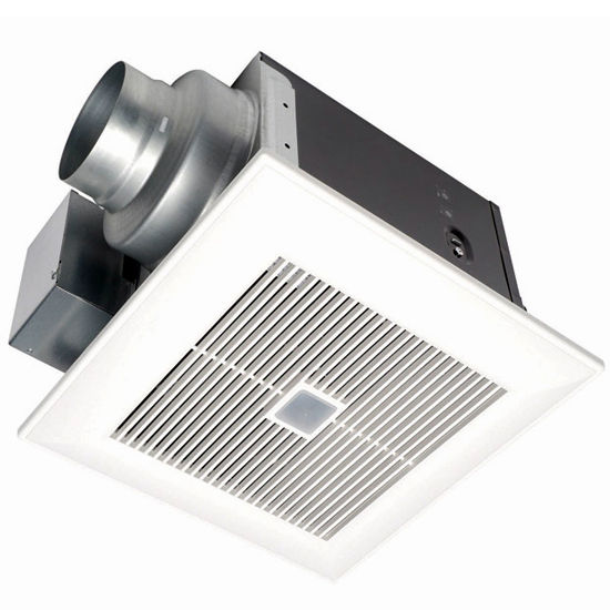 Panasonic 80 CFM Continuous and Spot Bathroom Fan with Motion Sensor