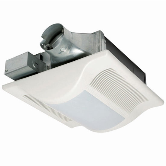 Panasonic 80 -100 CFM Whisper Wall bathroom Fan w/ Light