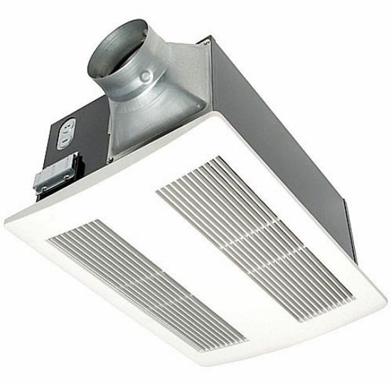 Panasonic 110 CFM Whisper Warm Bathroom Fan with Heater