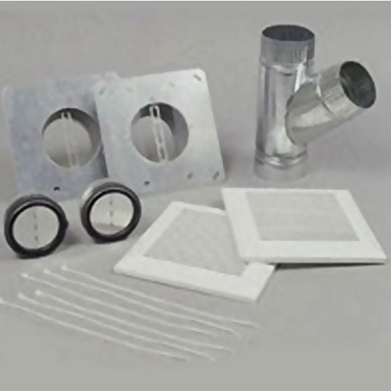 "Panasonic 4"" - 6"" Duct Double Accessory Kit"