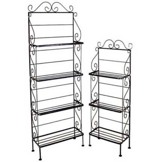 Light Style Bakers Racks - 4 Shelves