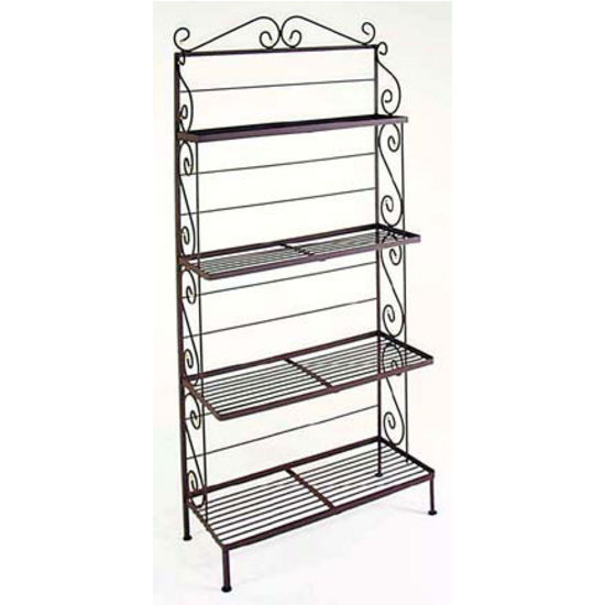 Graduated Style Bakers Rack