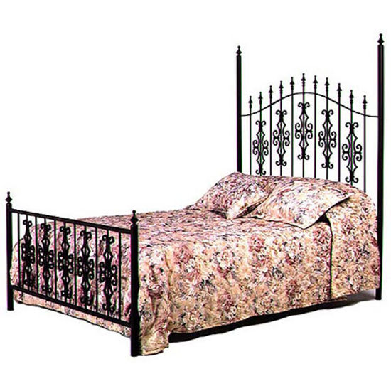 Gothic King Bed Set and Headboard