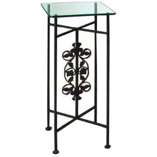 Grace - Pedestal w/ Glass Top