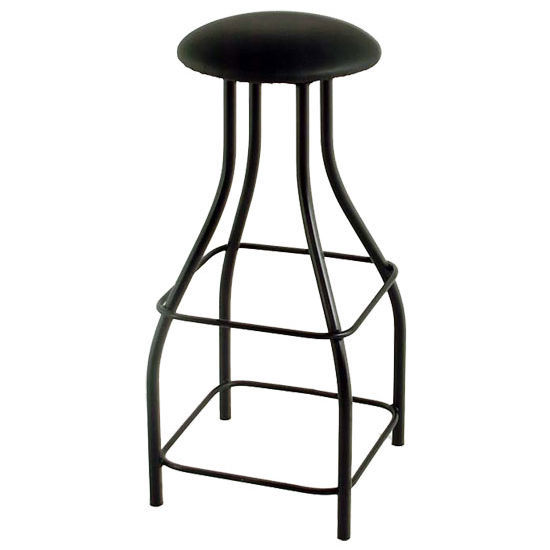 "Grace Collection 36"" Extra Tall Backless Swivel Bar Stool in a Variety of Finishes"