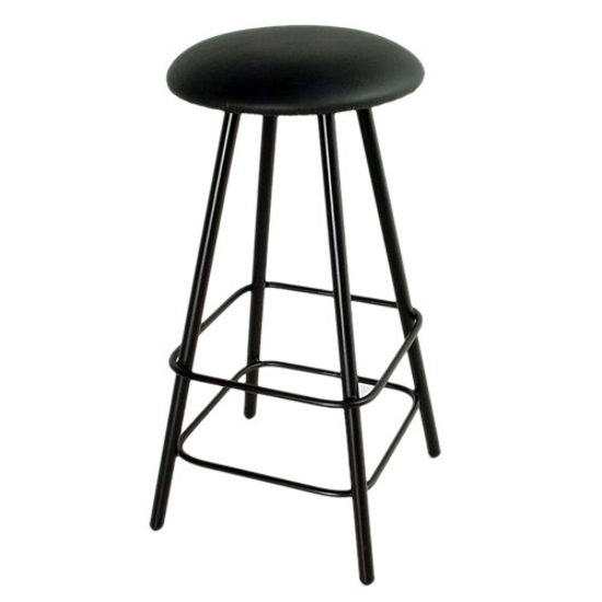 "Grace Collection Moderno 30"" Straight Leg Backless Swivel Stool in a Variety of Finishes"