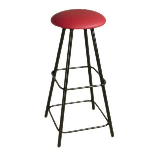 "Grace Collection Moderno 36"" Straight Leg Backless Swivel Stool in a Variety of Fabric Finishes"