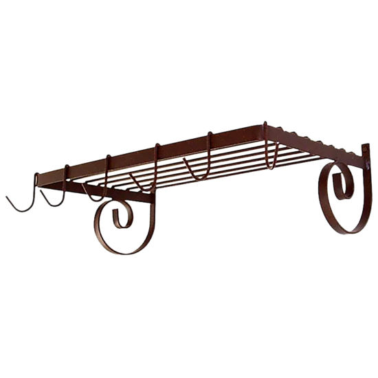 Wall Mount Shelf Pot Rack GA-WR24 Series