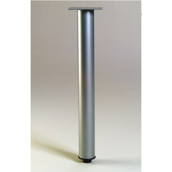 "Gibraltar Table/Support Leg, 27 3/4"" H x 1-1/2"" Dia. 7 lbs"