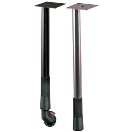 "Gibraltar Adjustable Table Leg with Leveler, 25-3/4"" to 29-1/4"" H"