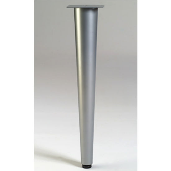 "Gibraltar Tapered Table Leg with Leveler, 27-3/4"" H, 8 lbs"