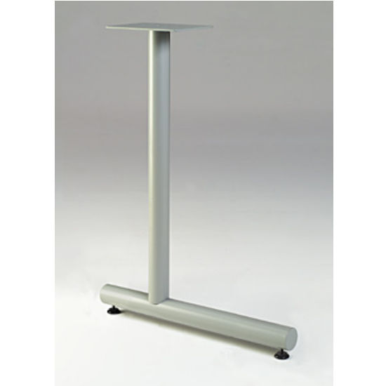 "Gibraltar Offset T-Shaped Table Leg, 27-3/4"" H x 18"" D, 11 lbs"