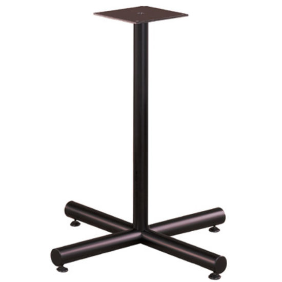 "Gibraltar X-Shaped Table Base with Levelers, 22"" W x 27-3/4"" H, 19 lbs"