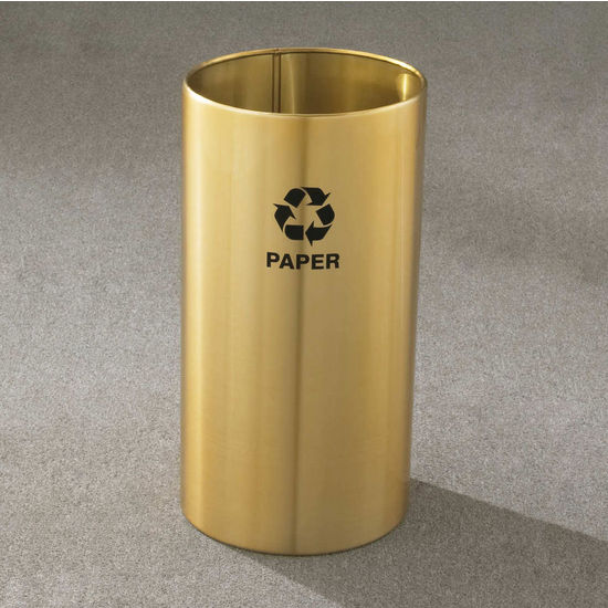 RecyclePro Open Top Receptacles, 11 Gallons