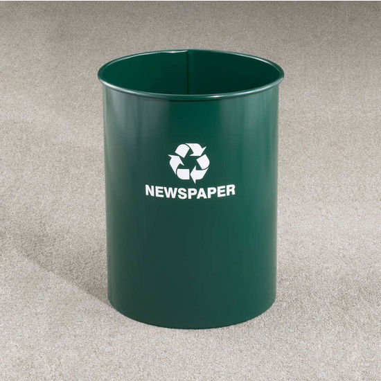 RecyclePro Open Top Receptacles, 12 Gallons