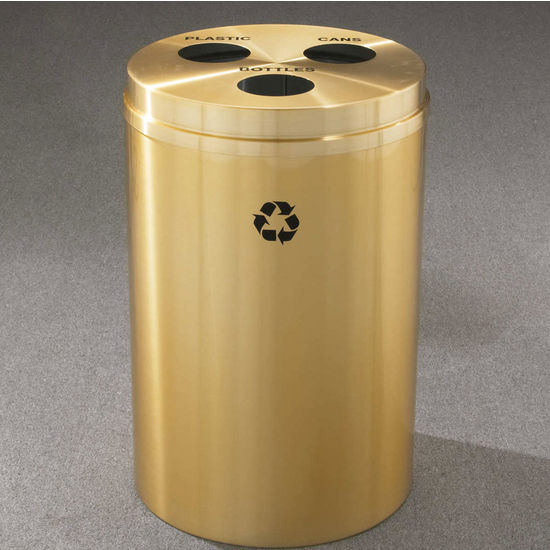 RecyclePro III Receptacles for Bottles, Cans, Etc.