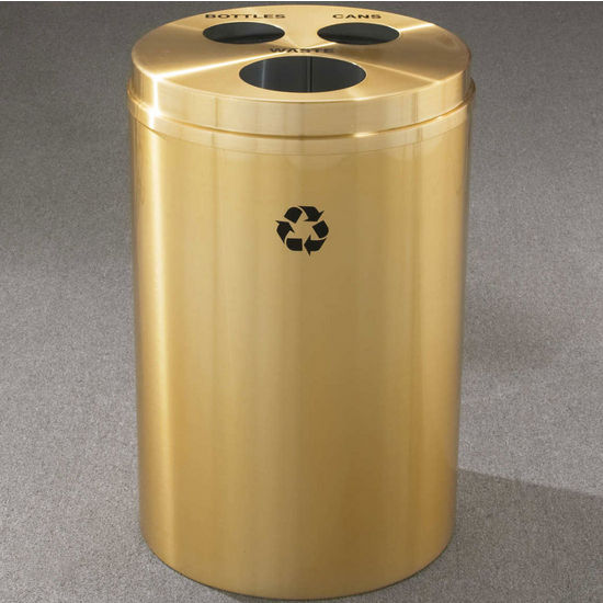 RecyclePro III Receptacles for Bottles, Cans & Waste