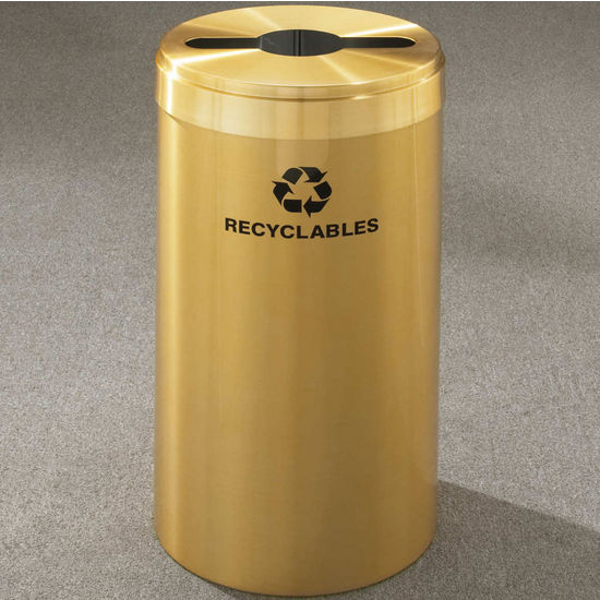 RecyclePro Value Series with Multi-Purpose Opening, 15 Gallons