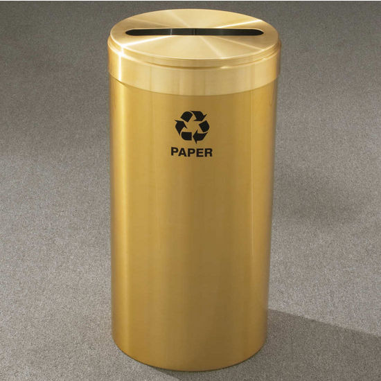 RecyclePro Value Series with Single Purpose Slot, 15 Gallons