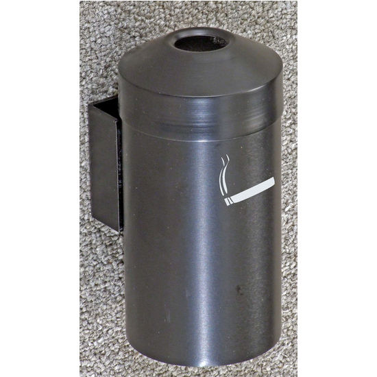 Wall Mount Ash/Trash Receptacle