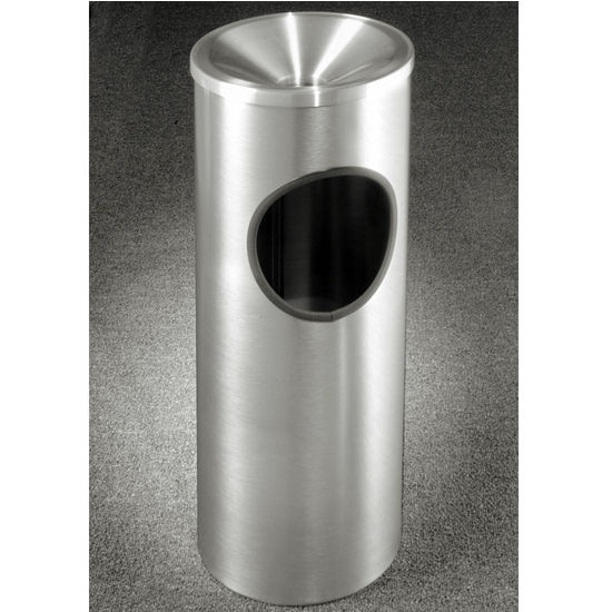Glaro New Yorker Funnel Top Ash/Trash Receptacle