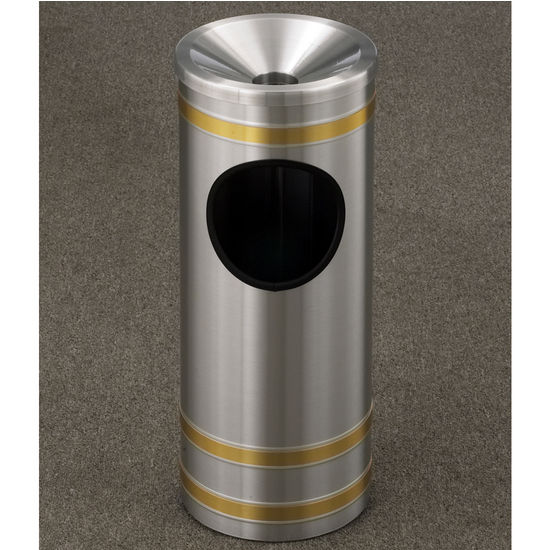Glaro Capri Series Funnel Cover Ash/Trash Receptacle