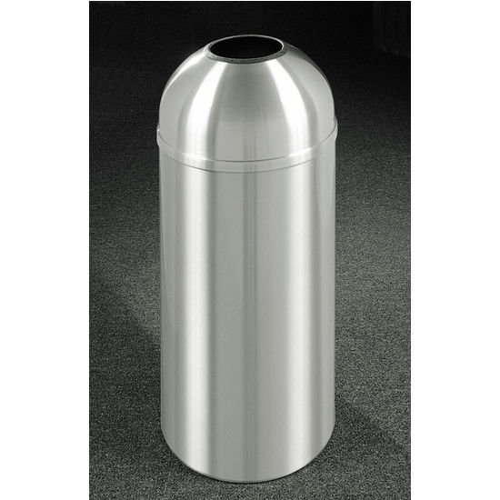 New Yorker WasteMaster� Collection Open Dome Top Waste Receptacles