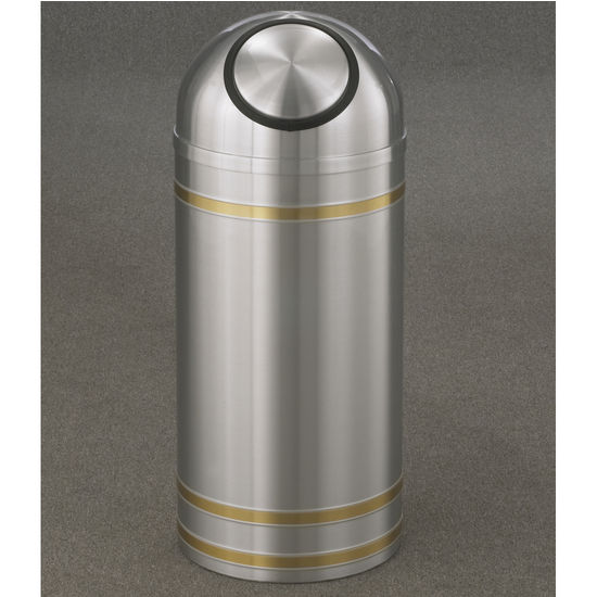 Capri WasteMaster™ Collection Dome Top Waste Receptacles